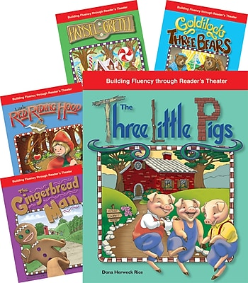 Teacher Created Materials Reader's Theater, Fairy Tales 5-Book Set (22854)
