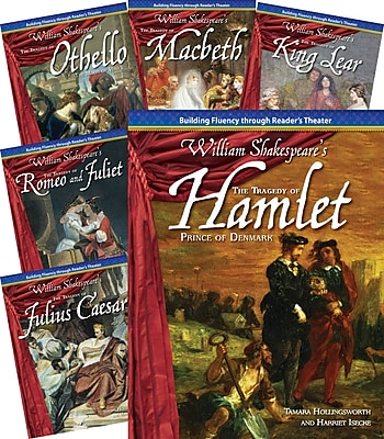 Teacher Created Materials Reader's Theater, Shakespearean Tragedies, 6-Book Set (22871)