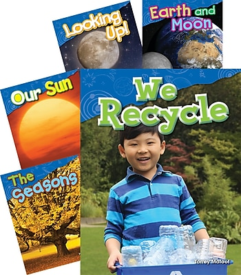 Teacher Created Materials Earth and Space Science, Grade 1, 5-Book Set (23021)