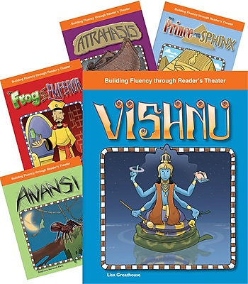 Teacher Created Materials Reader's Theater Stories of Africa and Asia 5-Book Set (23128)