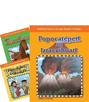 Teacher Created Materials Reader's Theater Stories of Europe and Central America 3-Book Set (23129)
