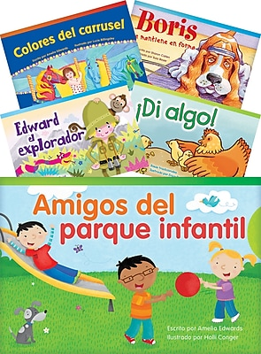Teacher Created Materials Literary Text, Grade 1 Readers Spanish Set 2, 10-Book Set (23269)