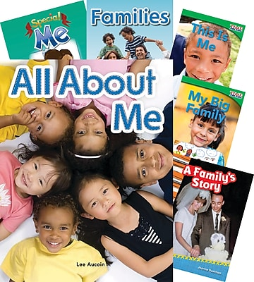 Teacher Created Materials Me and My Family 7-Book Set (23434)