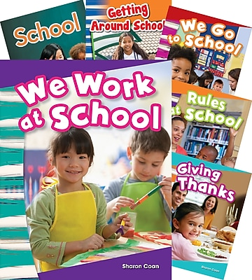 Teacher Created Materials School and Holidays, 7-Book Set (23435)