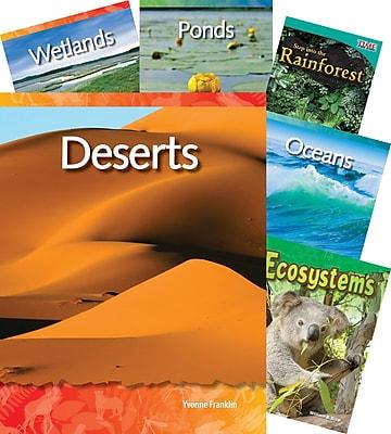 Teacher Created Materials Biomes and Habitats, 10-Book Set (23437)