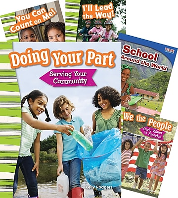 Teacher Created Materials Character Ed School 5-Book Set (23438)