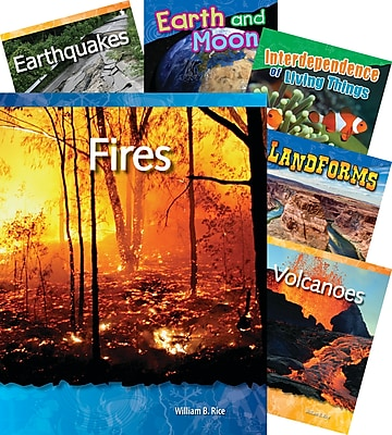 Teacher Created Materials Earth and Space Science, 10-Book Set (23439)