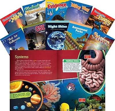 Teacher Created Materials STEM, Grade 5, 10-Book Set (23446)