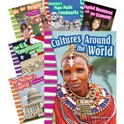 Teacher Created Materials Social Studies, Grade 3, 10-Book Set (23499)