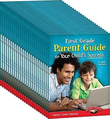 Teacher Created Materials First, Grade Parent Guide for Your Child's Success 25-Book Set (24685)