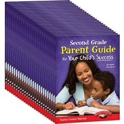 Teacher Created Materials Second, Grade Parent Guide for Your Child's Success, 25-Book Set (24686)