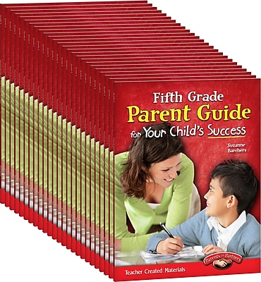 Teacher Created Materials Fifth, Grade Parent Guide for Your Child's Success 25-Book Set (24689)