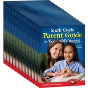 Teacher Created Materials Sixth, Grade Parent Guide for Your Child's Success, 25-Book Set (24690)