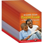 Teacher Created Materials Seventh, Grade Parent Guide for Your Child's Success, 25-Book Set (24691)