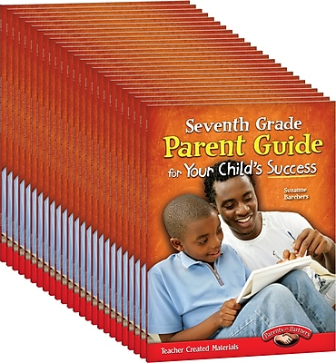 Teacher Created Materials Seventh, Grade Parent Guide for Your Child's Success, 25-Book Set (24691)
