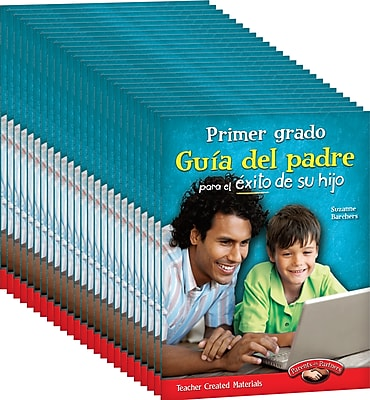 Teacher Created Materials First, Grade Spanish Parent Guide for Your Child's Success 25-Book Set (24695)