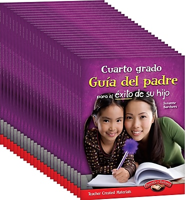 Teacher Created Materials Fourth, Grade Spanish Parent Guide for Your Child's Success 25-Book Set (24698)