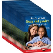Teacher Created Materials Sixth, Grade Spanish Parent Guide for Your Child's Success, 25-Book Set (24700)