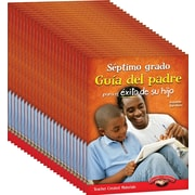 Teacher Created Materials Seventh, Grade Spanish Parent Guide for Your Child's Success, 25-Book Set (24701)