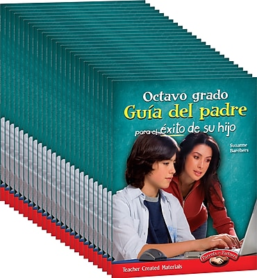 Teacher Created Materials Eighth, Grade Spanish Parent Guide for Your Child's Success 25-Book Set (24702)
