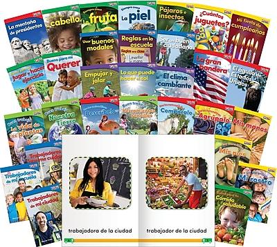Teacher Created Materials TIME For Kids Informational Text, Grade K Readers 30-Book Spanish Set (25857)