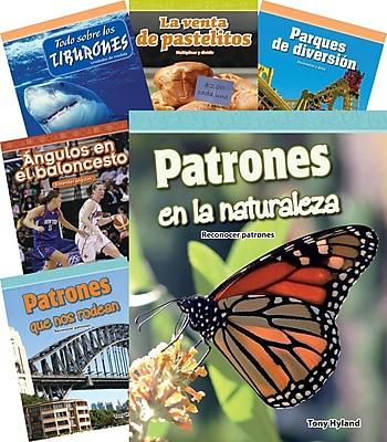 Teacher Created Materials Mathematics, Grade 4, 10-Book Spanish Set (25865)