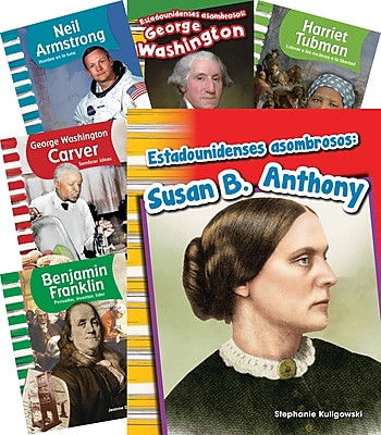 Teacher Created Materials Biographies K-1, 10-Book Spanish Set (25870)