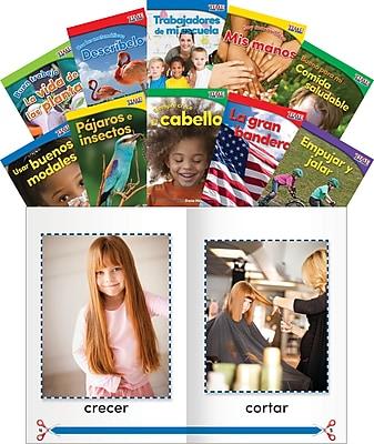 Teacher Created Materials TIME For Kids Informational Text, Grade K Readers Set 1, 10-Book Spanish Set (25871)