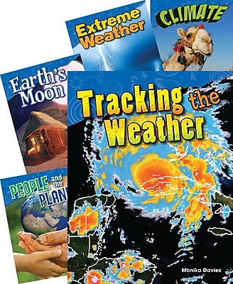Teacher Created Materials Earth and Space Science, Grade 3, 5-Book Set (25907)