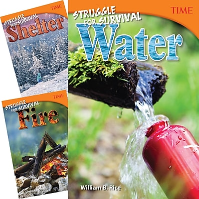 Teacher Created Materials TIME®, Counting on Survival, 3-Book Set (25919)