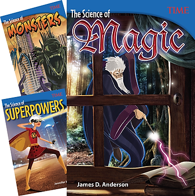Teacher Created Materials TIME®, Real Science of Fantasy, 3-Book Set (25920)