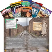 Teacher Created Materials TIME Informational Text, Grade 7 Set 1, 6-Book Set (27644)