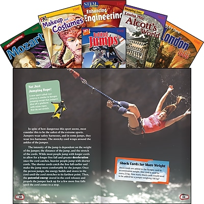 Teacher Created Materials TIME Informational Text, Grade 7 Set 2, 6-Book Set (27645)