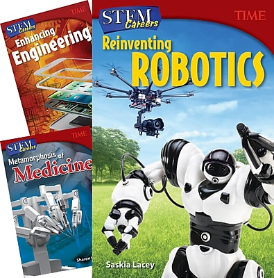 Teacher Created Materials TIME STEM Careers, 3-Book Set (27651)