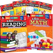 Teacher Created Materials 180 Days of First, Grade Practice, 6-Book Set (29274)