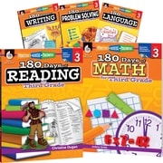 Teacher Created Materials 180 Days of Third, Grade Practice, 5-Book Set (29276)