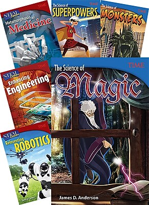 Teacher Created Materials TIME Middle School STEM, 6-Book Set (29281)