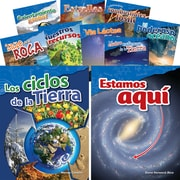 Teacher Created Materials Let's Explore Earth & Space Science, Grades 4-5 Spanish, 10-Book Set (29609)