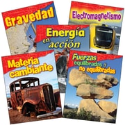 Teacher Created Materials Physical Science, Grade 3 Spanish, 5-Book Set (29617)