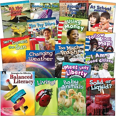 Teacher Created Materials Kindergarten Balanced Literacy 76-Book Set (29736)