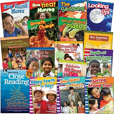 Teacher Created Materials, Grade 1 Dive into Close Reading, 76-Book Set (29744)