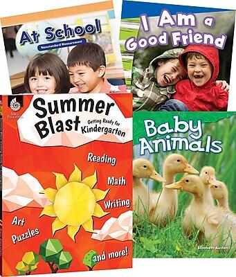 Teacher Created Materials Learn-at-Home Kindergarten, 4-Book Set (29749)