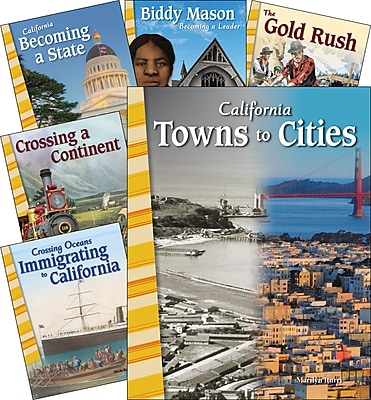 Teacher Created Materials Changing California 6-Book Set (29904)