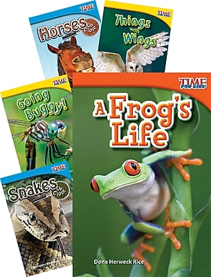 Teacher Created Materials TIME FOR KIDS® Nonfiction Readers Animals Set of 5 (51044)