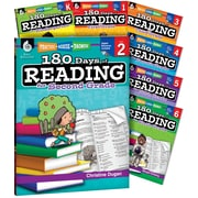 Teacher Created Materials 180 Days of Reading for K-6, 7-Book Set (51715)