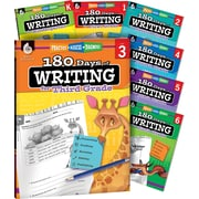 Teacher Created Materials 180 Days of Writing for K-6, 7-Book Set (51716)