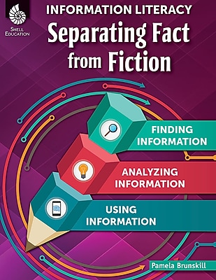 Teacher Created Materials Physical Book Information Literacy, Separating Fact from Fiction (51756)
