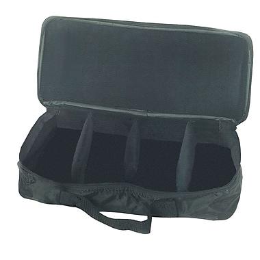 Westco Hand/Desk Bell Case, 8 Note, Black