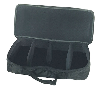 Westco Hand/Desk Bell Case, 8 Note, Black