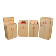 Wood Designs Set of (4) School Age Appliances (10040)